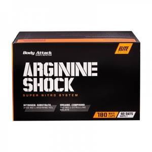 Bilde av Body Attack Arginine Shock 180 kapsler
