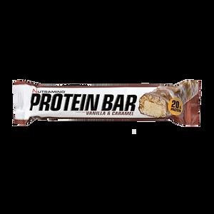 Bilde av Nutramino ProteinBar Crispy 64g Vanilla & Caramel